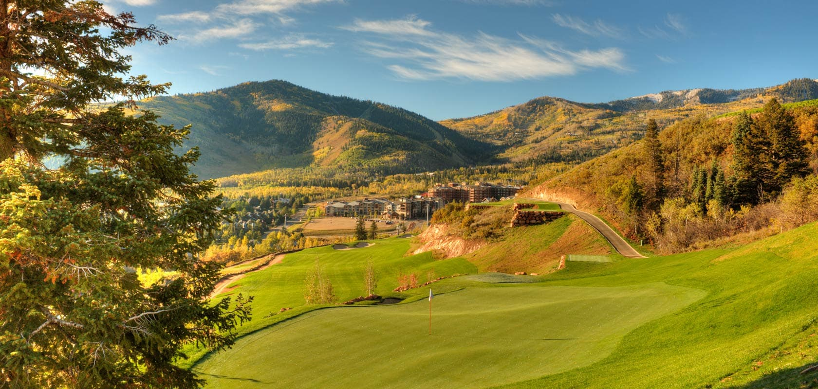 Canyons Village Golf Course Park City Utah
